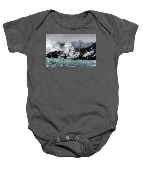 Lava Shelf Baby Onesie