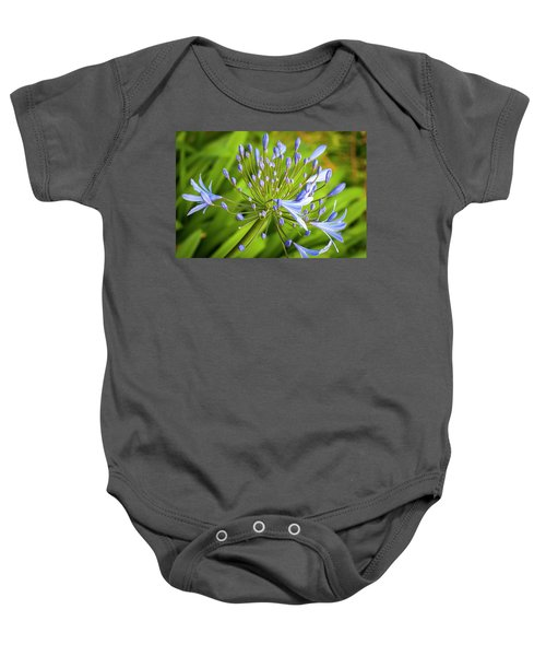 Lavendar Buds Baby Onesie