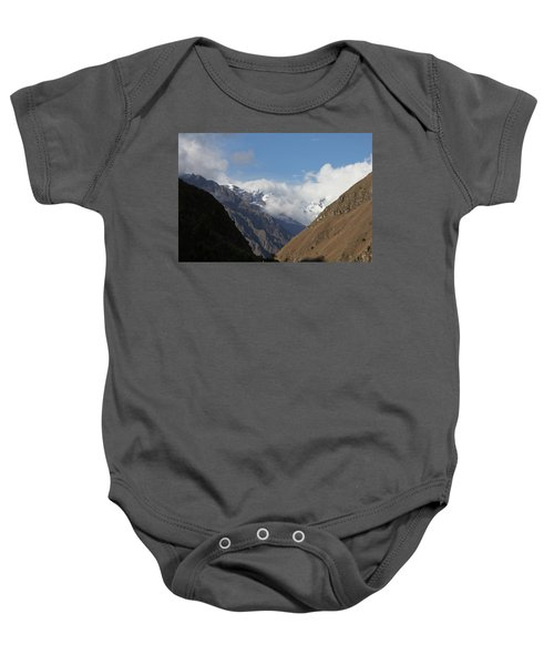 Layers Of Mountains Baby Onesie