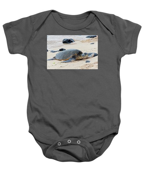 Lazy Day At The Beach Baby Onesie