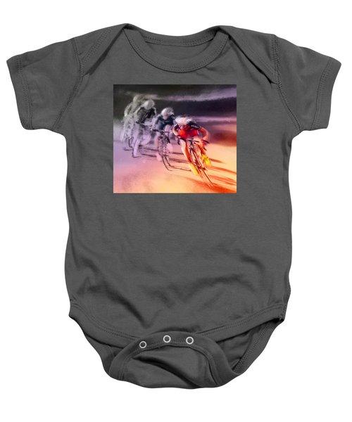 Le Tour De France 13 Baby Onesie