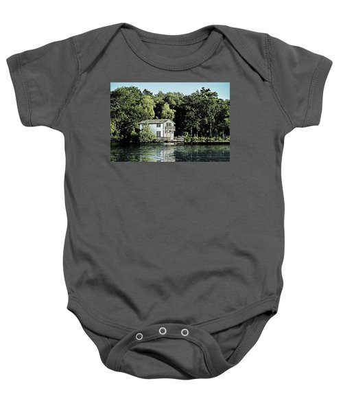 Leacock Boathouse Baby Onesie