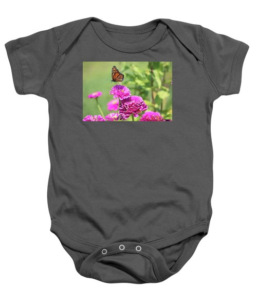 Leaping Butterfly Baby Onesie