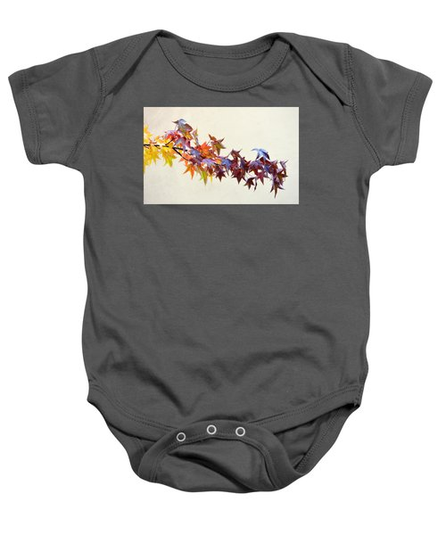 Leaves Of Many Colors Baby Onesie
