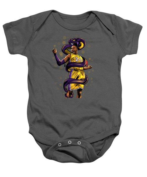 Legend Black Mamba Baby Onesie
