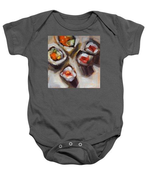 Let's Do Sushi Baby Onesie