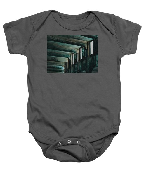 Letting In The Light Baby Onesie