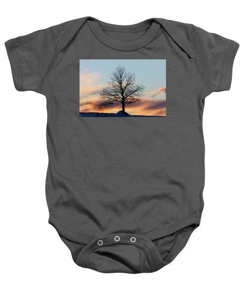 Liberty Tree Sunset Baby Onesie