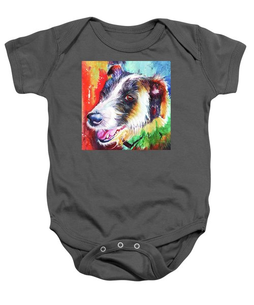 Life In The Old Dog Yet Baby Onesie