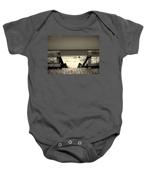 Life Is A Beach Baby Onesie