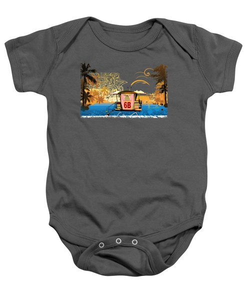 Lifeguard Station 6b Baby Onesie