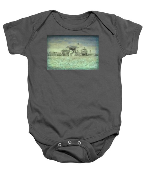 Lifeguard Tower 2 Baby Onesie