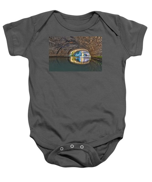 Light At The End Of The Tunnel Baby Onesie