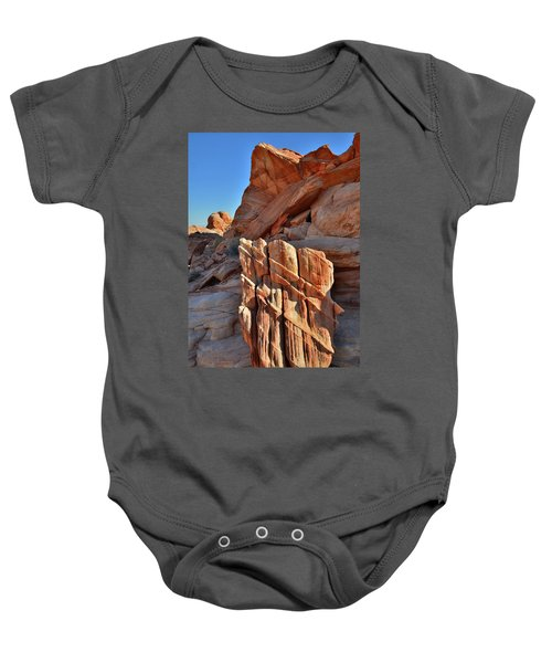 Light Creeps In At Valley Of Fire State Park Baby Onesie