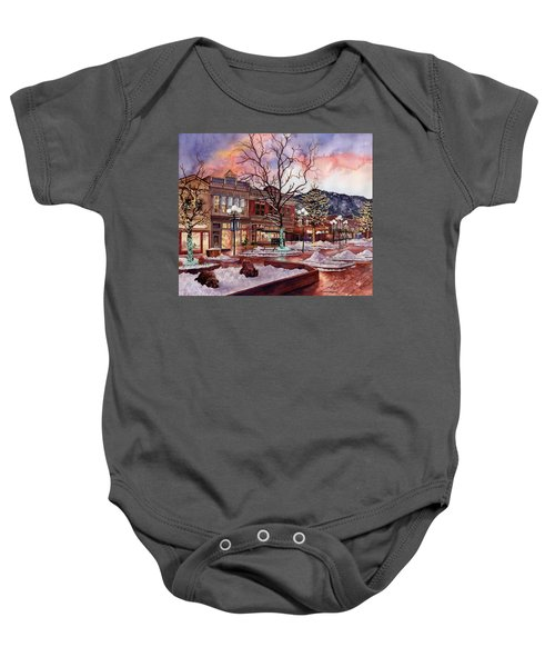 Light Up Heaven And Earth Baby Onesie