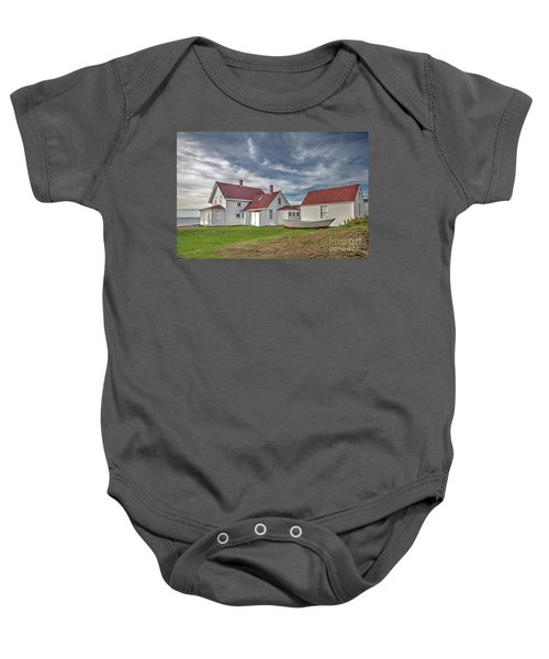 Keepers House At The Monheagn Lighthouse Baby Onesie