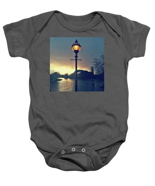 Let There Be Light. Baby Onesie