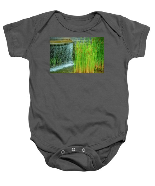 Lilly Pond In Battery Park Baby Onesie