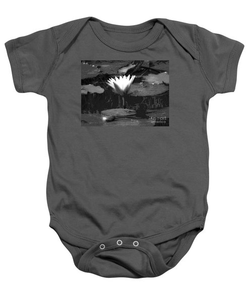 Lily Of The Lake Baby Onesie
