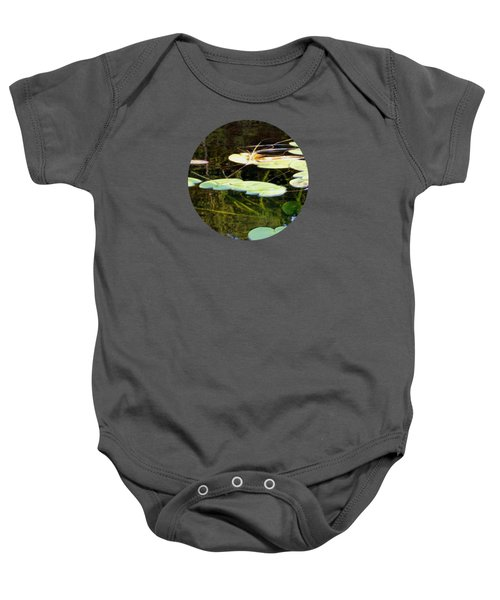 Lily Pads On The Lake Baby Onesie
