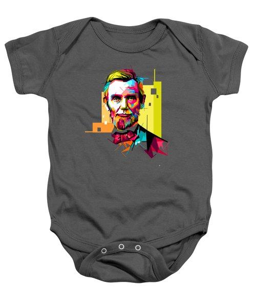 Lincoln Baby Onesie by Iffa Baskaragris
