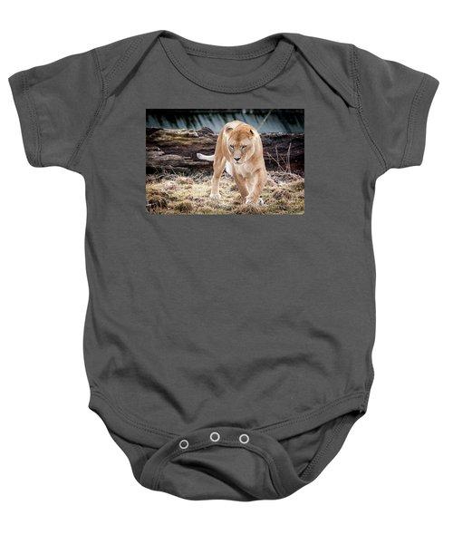 Lion Eyes Baby Onesie