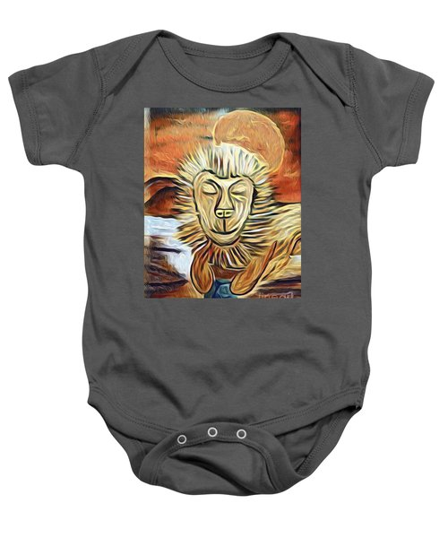 Lion Of Judah II Baby Onesie