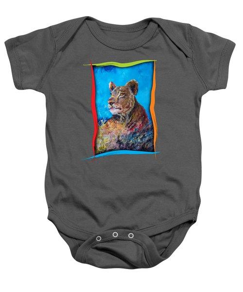 Lioness Pride Baby Onesie