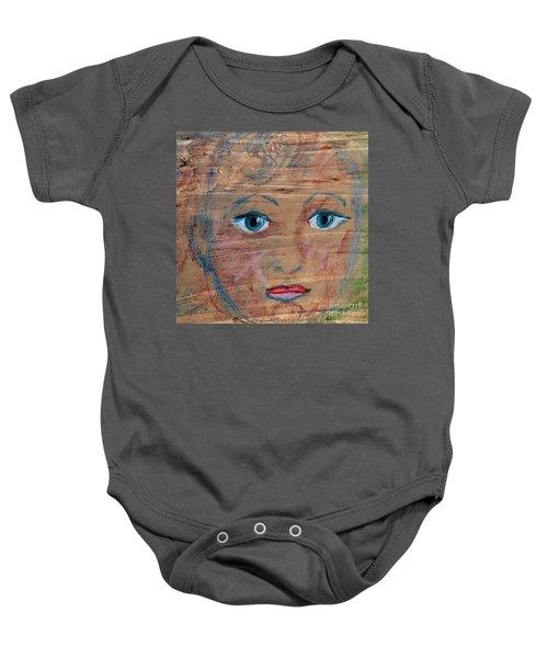 Little Boy Blue Baby Onesie