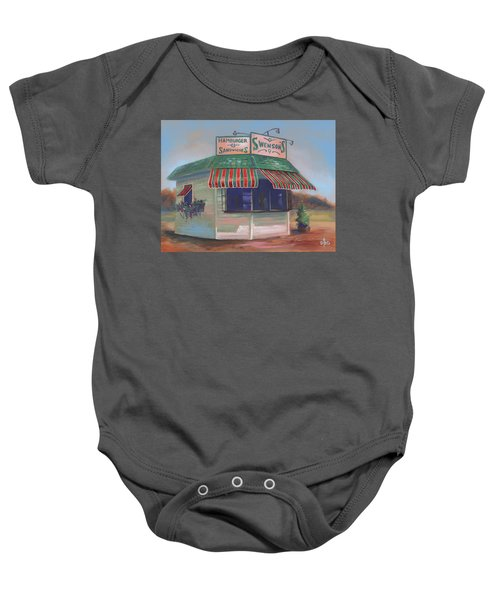 Little Drive-in On South Hawkins Ave Baby Onesie