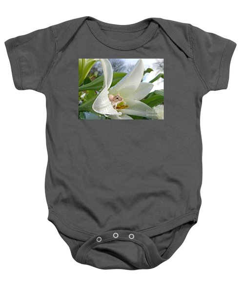 Little Field Mouse Baby Onesie