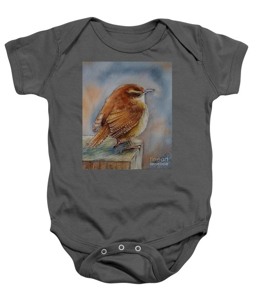 Little Friend Baby Onesie by Patricia Pushaw