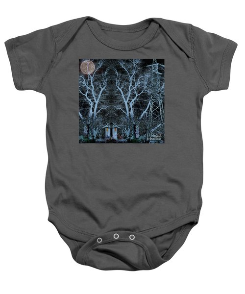 Little House In The Woods Baby Onesie
