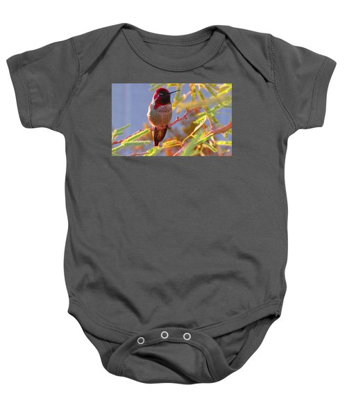 Little Jewel With Wings Second Version Baby Onesie