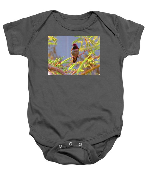 Little Jewel With Wings Third Version Baby Onesie