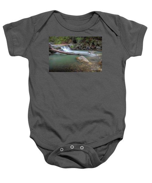 Little Missouri Falls 2 Baby Onesie