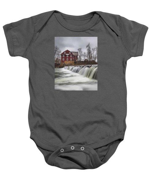 Little Red Mill Baby Onesie