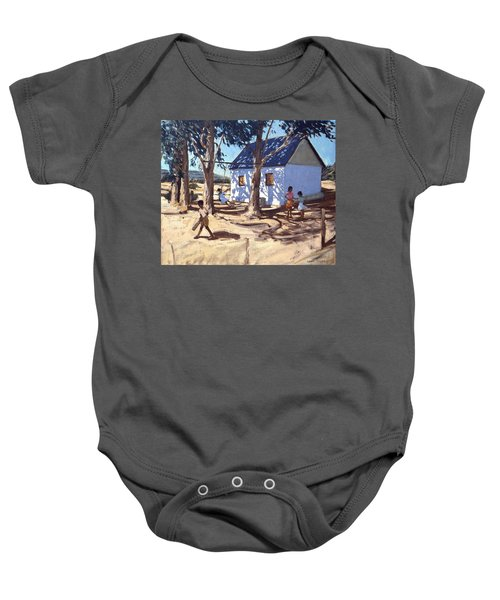 Little White House Karoo South Africa Baby Onesie by Andrew Macara
