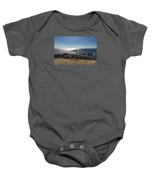 Lizard Point Cornwall Baby Onesie