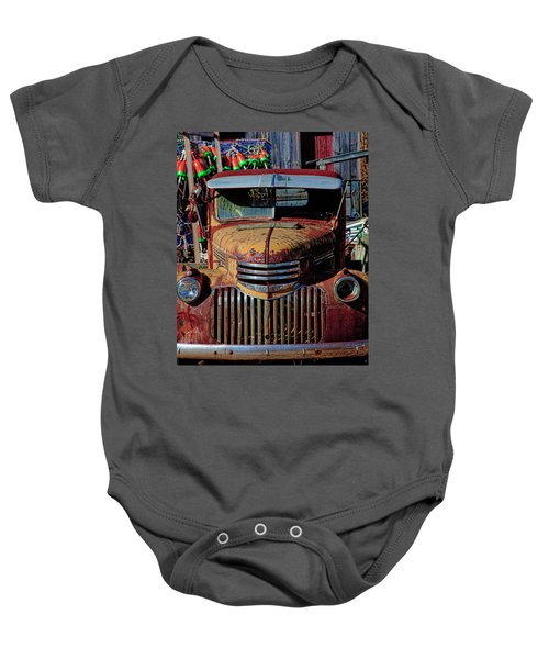 Lobster Pots And Chevys Baby Onesie