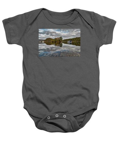 Loch Lomond At Aldochlay Baby Onesie by Jeremy Lavender Photography