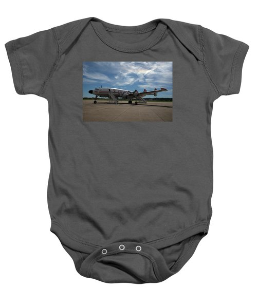 Lockheed Constellation Super G Baby Onesie