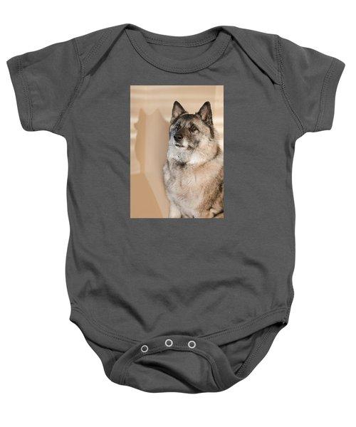 Loki Sepia Baby Onesie