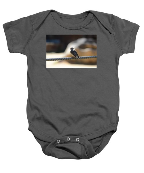 The Sentry Baby Onesie