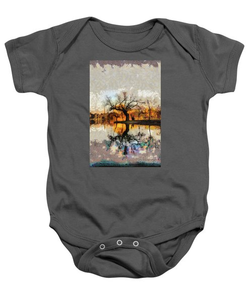 Lonely Tree And Its Thoughts Baby Onesie