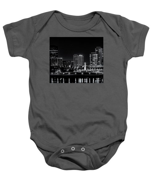 Long Beaach A Chip In Time Baby Onesie