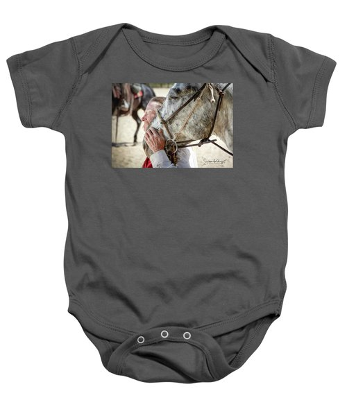 End Of A Long Day Baby Onesie