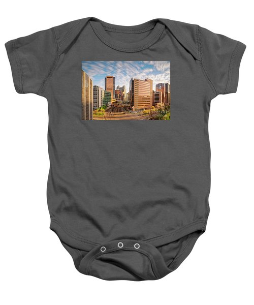 Long Exposure View Of The Texas Medical Center Houston Harris County - Southeast Texas Baby Onesie