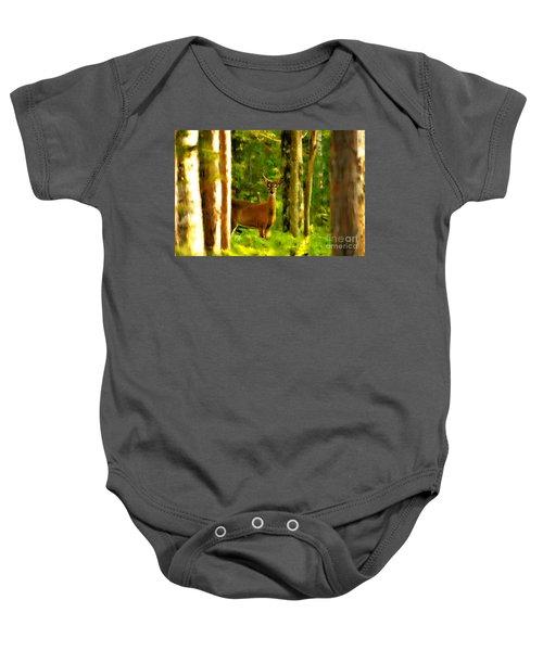 Look Deep Into Nature Baby Onesie