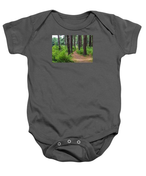 Look Park Nature Path Baby Onesie